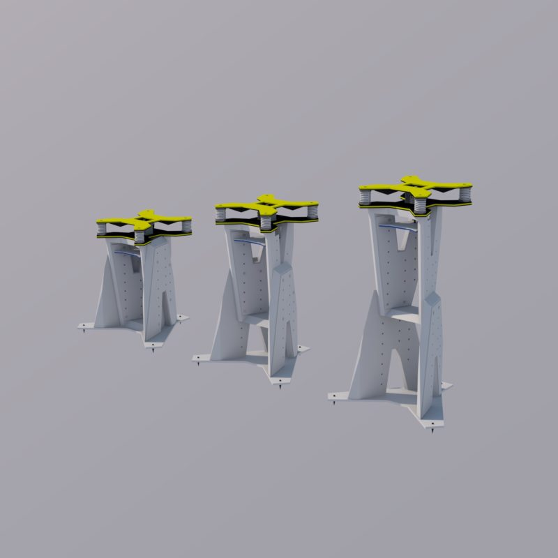 Northward Systems - Speaker Stand type V2.1 65.100.400 - Image1