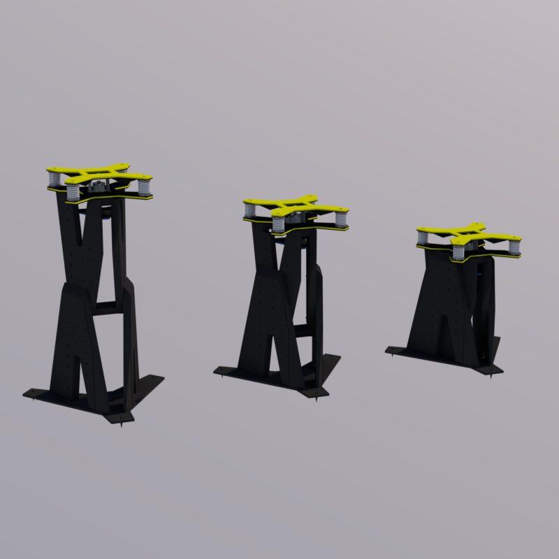 Northward Systems - Speaker Stand type V2.1 65.100.400 Black - Image1