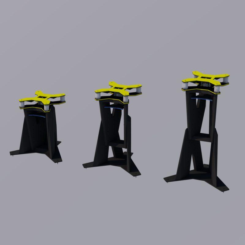 Northward Systems - Speaker Stand type V2.1 65.100.400 Black - Image2